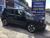 2016 JEEP RENEGADE 1.6 M-JET SPORT 5d 118 BHP, only 32000 miles £10495.00