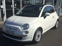 2012 FIAT 500 1.2 LOUNGE 3 DOOR 69 BHP £4990.00