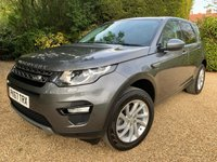 USED 2017 67 LAND ROVER DISCOVERY SPORT 2.0 TD4 SE TECH 5d AUTO 180 BHP 1 OWNER FROM NEW !!!!!
