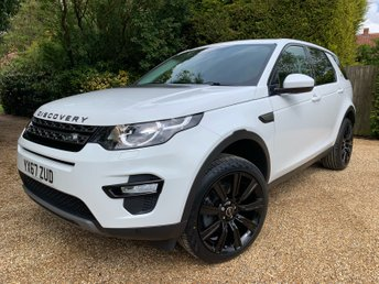 2017 LAND ROVER DISCOVERY SPORT 2.0 ED4 SE TECH 5d 150 BHP £22949.00