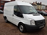 USED 2013 63 FORD TRANSIT 2.2 300 1d 99 BHP