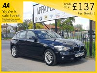 2013 BMW 1 SERIES 1.6 116D EFFICIENTDYNAMICS 5d 114 BHP £7885.00