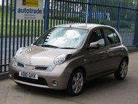 USED 2010 10 NISSAN MICRA 1.2 N-TEC 5d AUTO Sat nav Bluetooth Finance arranged Part exchange available Open 7 days