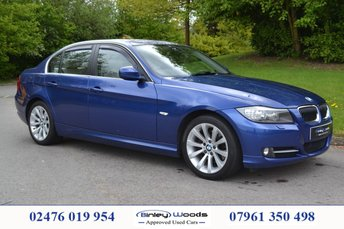 2011 BMW 3 SERIES 2.0 320D EXCLUSIVE EDITION 4d 181 BHP £6999.00