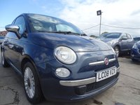 USED 2008 08 FIAT 500 1.2 LOUNGE DRIVES A1