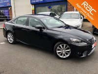 2016 LEXUS IS 2.5 300h EXECUTIVE EDITION 4d AUTO 179 BHP £17250.00