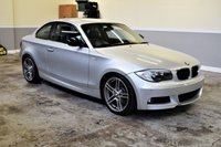 USED 2013 BMW 1 SERIES 2.0 118D SPORT PLUS EDITION 2d 141 BHP Stunning 2013 (63 plate) BMW 118D M Sport Edition Plus in Titanium Silver Metallic with 1 former keeper and full BMW service history!