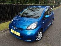 2010 TOYOTA AYGO 1.0 BLUE VVT-I 5d 67 BHP £3688.00