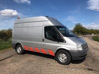2012 FORD TRANSIT 2.2 350 H/R 1d 153 BHP L2H2 SERVICE VAN / COMPRESSOR £4995.00