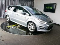 USED 2013 63 FORD S-MAX 2.0 TITANIUM X SPORT TDCI 5d AUTO 161 BHP £0 DEPOSIT FINANCE AVAILABLE, AIR CONDITIONING, BI XENON HEADLIGHTS, BLUETOOTH CONNECTIVITY, CLIMATE CONTROL, CRUISE CONTROL, DAB RADIO, DAYTIME RUNNING LIGHTS, PANORAMIC ROOF, PARKING SENSORS, STEERING WHEEL CONTROLS, TOUCH SCREEN HEAD UNIT, TRIP COMPUTER