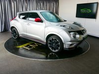 USED 2013 63 NISSAN JUKE 1.6 NISMO DIG-T 5d AUTO 200 BHP £0 DEPOSIT FINANCE AVAILABLE, AIR CONDITIONING, AUTOMATIC HEADLIGHTS, BLUETOOTH CONNECTIVITY, CLIMATE CONTROL, CRUISE CONTROL, DAYTIME RUNNING LIGHTS, DRIVE PERFORMANCE CONTROL, HEATED SEATS, PRIVACY GLASS, REVERSE CAMERA, STEERING WHEEL CONTROLS, TRIP COMPUTER, USB INPUT