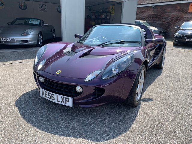 LOTUS ELISE at Euxton Sports and Prestige