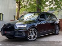 USED 2018 18 AUDI Q7 3.0 TDI V6 Black Edition Tiptronic quattro (s/s) 5dr PAN ROOF - HUD - SIDE STEPS