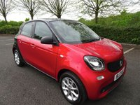 USED 2017 17 SMART FORFOUR 1.0 PASSION 5d 71 BHP
