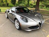 USED 2015 15 ALFA ROMEO 4C 1.7 TBI 2d AUTO 240 BHP £8000 OF EXTRAS !