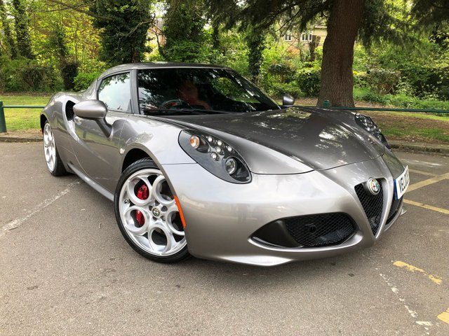 View our ALFA ROMEO 4C