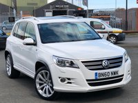 USED 2010 60 VOLKSWAGEN TIGUAN 2.0 R LINE TDI 4MOTION 5d 138 BHP *CANDY WHITE, SAT NAV, PAN ROOF!*