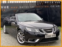 USED 2010 60 SAAB 9-3 1.9 AERO TTID 2d 180 BHP *LEATHER SEATS, 19'' ALLOYS, BLUETOOTH PHONE!*