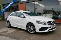 USED 2016 MERCEDES-BENZ A CLASS 1.5 A 180 D AMG LINE EXECUTIVE 5d 107 BHP £20 ROAD TAX, EXECUTIVE PACK, REVERSING CAMERA, APPLE CAR PLAY,