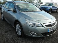 USED 2011 61 VAUXHALL ASTRA 1.7 EXCLUSIV CDTI ECOFLEX 5d 108 BHP 1 Previous owner - Cheap tax