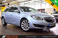 USED 2015 65 VAUXHALL INSIGNIA 1.6 ELITE NAV CDTI ECOFLEX S/S 5d 134 BHP + 1 OWNER / FULL VAUXHALL SERVICE HISTORY / 15 MONTHS WARRANTY / 12 MONTHS MOT