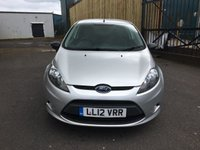 USED 2012 12 FORD FIESTA 1.6 ECONETIC TDCI DPF 1d 94 BHP