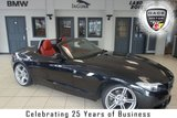 USED 2012 62 BMW Z4 2.0 Z4 SDRIVE20I M SPORT ROADSTER 2d 181 BHP FINISHED IN STUNNING BLACK WITH RED HEATED LEATHER SEATS + FULL BMW SERVICE HISTORY + AIR CONDITIONING + DUAL CLIMATE CONTROL+ XENON HEADLIGHTS + PARKING SENSORS...