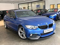 USED 2014 14 BMW 4 SERIES GRAN COUPE 2.0 420D M SPORT GRAN COUPE 4d AUTO 181 BHP M PERFORMANCE STYLING+SAT NAV