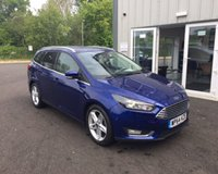 USED 2015 64 FORD FOCUS 1.0 TITANIUM NAVIGATOR ECOBOOST 125 BHP THIS VEHICLE IS AT SITE 2 - TO VIEW CALL US ON 01903 323333