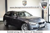 """USED 2014 64 BMW 3 SERIES 3.0 335D XDRIVE M SPORT TOURING 5DR AUTO 309 BHP full bmw service history FINISHED IN STUNNING MINERAL METALLIC GREY WITH FULL LEATHER INTERIOR + FULL BMW SERVICE HISTORY + SATELLITE NAVIGATION + BLUETOOTH + DAB RADIO + CRUISE CONTROL + LIGHT PACKAGE + SPORT SEATS + AUTO AIR CON + RAIN SENSORS + PARKING SENSORS + 19"""" ALLOY WHEELS"""