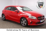 USED 2016 16 MERCEDES-BENZ A CLASS 1.5 A 180 D SE 5DR 107 BHP 1 OWNER FREE ROAD TAX SERVICE HISTORY + FREE 12 MONTHS ROAD TAX + LEATHER SEATS + SATELLITE NAVIGATION + REVERSE CAMERA + BLUETOOTH + CRUISE CONTROL + MULTI FUNCTION WHEEL + AIR CONDITIONING + ELECTRIC WINDOWS + ELECTRIC MIRRORS + 16 INCH ALLOY WHEELS