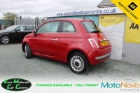 USED 2014 14 FIAT 500 1.2 LOUNGE 3d 69 BHP PETROL RED FULL SERVICE HISTORY