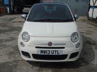 USED 2013 13 FIAT 500 0.9 S TWINAIR 3d 85 BHP