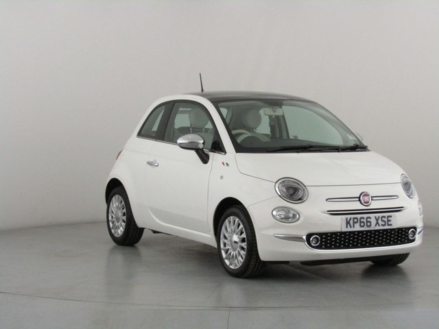 View our 2016 66 FIAT 500 1.2 LOUNGE 3d 69 BHP