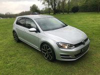 USED 2014 14 VOLKSWAGEN GOLF 1.6 BLUEMOTION TDI 5d 108 BHP ***EXCELLENT FINANCE AVAILABLE***FULL SERVICE HISTORY***FREE ROAD TAX**