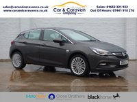 USED 2016 16 VAUXHALL ASTRA 1.4 ELITE 5d 148 BHP Service History DAB Bluetooth Buy Now, Pay Later Finance!