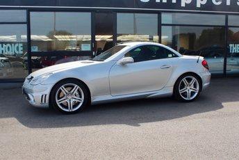 2005 MERCEDES-BENZ SLK 5.4 SLK55 AMG 2d AUTO 356 BHP £14495.00