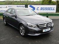 2016 MERCEDES-BENZ E CLASS 2.1 E220 BLUETEC SE 4d AUTO 174 BHP £17995.00