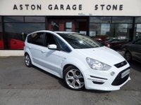 USED 2012 12 FORD S-MAX 2.0 TITANIUM X SPORT TDCI AUTO 161 BHP **F/S/H * PAN ROOF** ** PAN ROOF * F/S/H * 1/2 LEATHER **