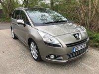 2013 PEUGEOT 5008 1.6 E-HDI ALLURE 5d AUTO 115 BHP £7995.00