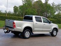 USED 2010 10 TOYOTA HI-LUX 2.5 HL3 4X4 D-4D DCB 1d 142 BHP