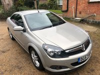 USED 2007 57 VAUXHALL ASTRA 1.6 TWIN TOP SPORT 3d 115 BHP