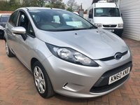 USED 2010 60 FORD FIESTA 1.4 EDGE TDCI 5d 69 BHP