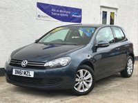 USED 2011 61 VOLKSWAGEN GOLF 1.4 MATCH TSI 3d 121 BHP