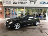 2012 MERCEDES-BENZ SLK 2.1 SLK250 CDI BLUEEFFICIENCY AMG SPORT 2d 204 BHP £11995.00