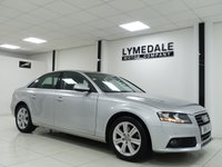 USED 2011 11 AUDI A4 1.8 TFSI SE 4d 160 BHP