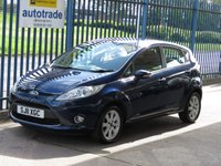USED 2011 10 FORD FIESTA 1.2 ZETEC 5d Air con Rear park sensors Finance arranged Part exchange available Open 7 days