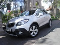 USED 2015 65 VAUXHALL MOKKA 1.6 SE CDTI ECOFLEX S/S 5d 134 BHP ****FINANCE ARRANGED****PART EXCHANGE WELCOME***FULL SERVICE HISTORY*FULL LEATHER* HEATED SEATS*6SPEED*BTOOTH