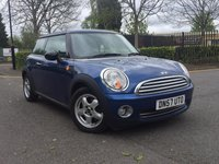 USED 2007 57 MINI HATCH ONE 1.4 ONE 3d 94 BHP