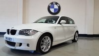 2011 BMW 1 SERIES 2.0 116D M SPORT 5d 114 BHP £SOLD